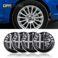 4pcs Car Wheel Center Hub Caps Cover Rim Sticker Badge fits for ALFA ROMEO