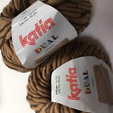 Knitting Yarn - Katia Dual ~  wool blend 50g balls shade 73 ~ a chunky yarn