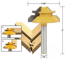 """1pc Router Bit 1/4"""" Shank Tungsten Carbide Rotary Woodworking Tool Accessories"""