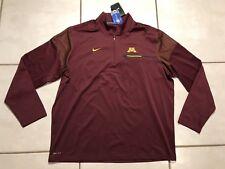 e10f8d7af Nike Minnesota Golden Gophers Coach 1/4 Zip Pullover Jacket Men's 2xl