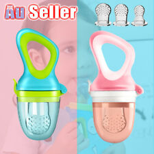 Newborn Baby Food Fruit Nipple Feeder Pacifier Soft Silicone Safety Feeding Tool