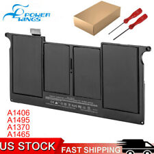 """New listing A1406 Battery for Apple MacBook Air 11"""" Mid 2011 A1495 A1465 A1370 2013 5200mAh"""