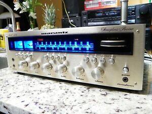 Vintage MARANTZ 2270 AM/FM Stereo Receiver LED Lighting Serial # Stamp Error