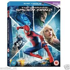 THE AMAZING SPIDER-MAN 2 2014 BLU-RAY Película Digital UV Nuevo y Sellado