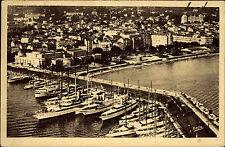 Cannes Frankreich France Côte d'Azur 1943 Luftbild Fliegeraufnahme Hafen Schiffe