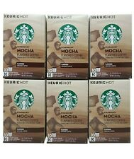 Starbucks Keurig Hot Mocha Flavored Ground Coffee 60 K-Cup Expiration March 2020
