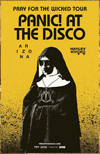 PANIC AT THE DISCO Pray For The Wicked Tour 2018 Ltd Ed RARE Poster +FREE Poster