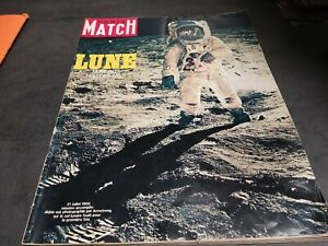 Magazine Paris Match 1969 LUNE