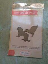 Carta Bella Designer Dies Animal Set #1 Die Lion & Seal Item # CBCP42032 NEW