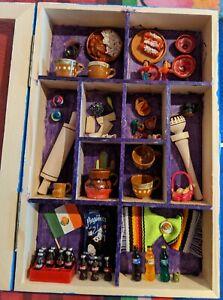 Mexican miniature pottery, kitchen, wall decor, handmade