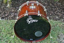 "2006 GRETSCH USA 24"" BASS DRUM in WALNUT GLOSS for YOUR DRUM SET! LOT #E734"