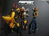TRANSFORMERS Animorphs Incomplete Action Figure Lot Ax Scorpion Hork Parts