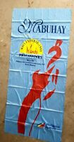 Rare 1994 MISS UNIVERSE Pageant Manila Philippines Giant Banner Blue Maroon