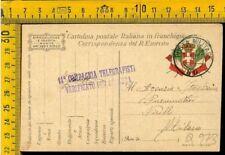 WW1 Posta Militare franchigia prima guerra a Pirelli Q 973 pm 90