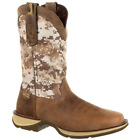 Rebel by Durango Men's Desert Camo Pull-On Cowboy Boots