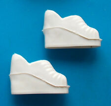 "1976 CHER FARRAH 12"" mego doll -- STRAWBERRY -- WHITE PLATFORM SHOES"