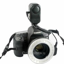 W48 LED Flash Makro Macro Ring  Lighting SLR DSLR Canon NIKON Camera New