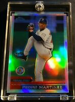 2000 PEDRO MARTINEZ TOPPS CHROME REFRACTOR #60 RED SOX READ NM (124)