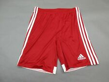 Adidas Size L Youth Boys Red Athletic Cimacool Sportswear Track Shorts 469