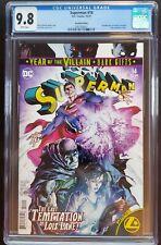 Superman 14 CGC 9.8 First Print - Recalled Variant - 1st Gold Lantern