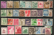 Japan selection of early used stamps FU (v)