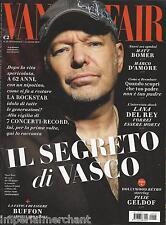 Vanity Fair magazine Vasco Rossi Matt Bomer Lana Del Rey Pixie Geldof Buffon