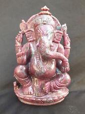 Gravur, Ganesha Rubin Disthen (001)
