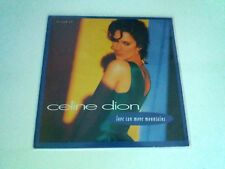 """CELINE DION """"LOVE CAN MOVE MOUNTAINS"""" MAXI 12"""" VINYL G/EX BE/EX"""