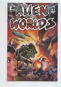 Alien Worlds #8 (1984) Eclipse Comics High Grade NM 9.4