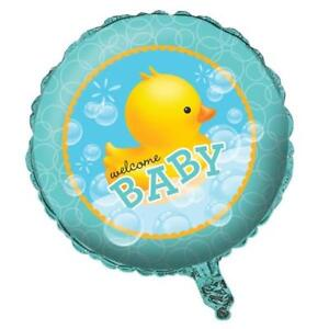 Bubble Bath Baby Welcome Baby Foil Balloon