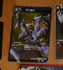 ONE PIECE MIRACLE BATTLE CARDDASS CARD RARE HOLO CARTE SR 44/85 JAPAN **