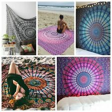 Mandala Tapestry Wall Hanging Throw Indian Boho Tapestries Wholesale Lot 10 Pcs