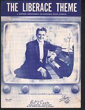 Liberace Theme 1955 Simplified Version  Sheet Music