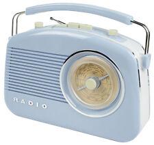 Baby Blue KONIG Elegante Tavolo Retrò Radio AM/FM-Nuovo in Confezione