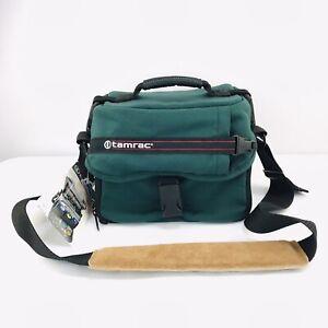 Tamrac Camera Shoulder Bag 603 Zoom Traveler 3 Forest Green Case Vintage