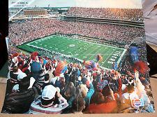 Vintage Auburn Tigers Football Jordan-Hare Stadium Wall Poster - late 1980s