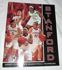 2009-10 STANFORD Cardinal Womens Basketball Yearbook Jayne Appel Nneka Ogwumike