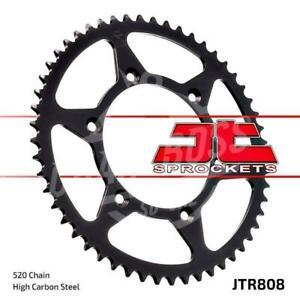 JT Sprockets 520 Rear Sprocket Steel 39 Teeth Black JTR808.39