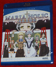Maria-Holic Alive Complete Collection Ep. 1-12 (2-Disc) Anime Blu-ray R1