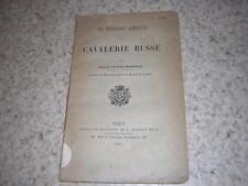 1886.tendances actuelles de la cavalerie russe / Gaston Sainte-Chapelle.Russie