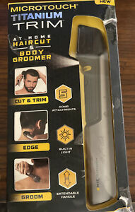 Micro Touch Titanium Trim Hair Cutting Body Shaver and Groomer - 092120