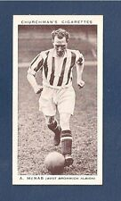 West Bromwich Albion  SANDY McNAB  WBA The Baggies Sunderland FC  Newport 1938