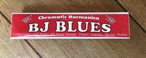 BJ Blues Chromatic Harmonica