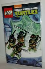 SDCC 2014 Nickeloden Lego TMNT Exclusive Comic. VG/ FN Grade, in great shape!