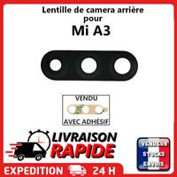 Vitre arrière caméra XIAOMI Mi A3 a 3 Lentille appareil photo Lens verre