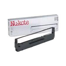 NUKOTE BM203 EPSON LQ800 BLACK NYLON REPLACEMENT INK RIBBON *UT27