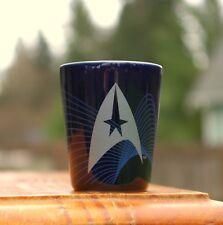 Star Trek USS Enterprise NCC-1701 2014 Blue Shot Glass