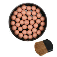 1Pc Makeup Face Matte Blusher Ball 3 In 1 Blush Eyeshadow Contour Cosmetics Z8U7