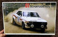 TOYOTA CELICA 2000GT RALLY / RA-20 1976 PORTUGAL  1/24 MODEL KIT AOSHIMA JAPAN