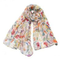 Cute Animal Ladies Scarf Women Sunflower Printed Wraps Muffle Neckerchief Shawl